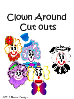 Clown Around Cutouts
