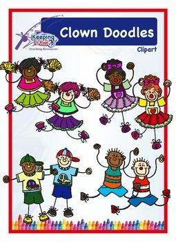Clown Doodles!