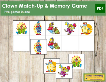 Clown Match-Up and Memory