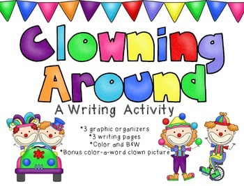 Clowning Around: A Writing Activity