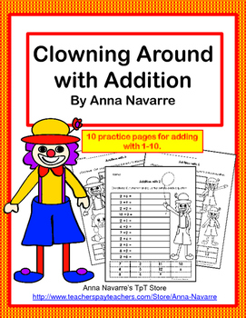 Clowning Around Addition