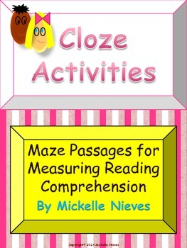 Cloze Activities: Reading Comprehension Maze