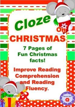 Cloze- Christmas Theme