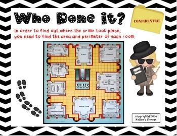 Area and Perimeter Clue