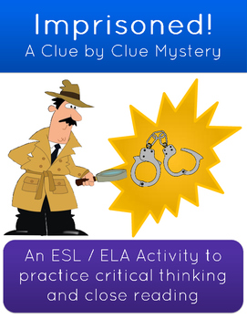 Clue By Clue Imprisoned Mystery Game