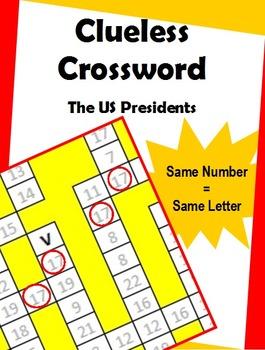 Clueless Crossword – Presidents