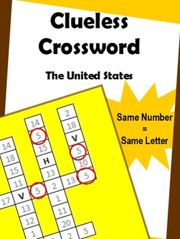 Clueless Crossword – United States of America