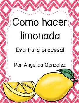 Cómo hacer limonada (How to make lemonade) SPANISH