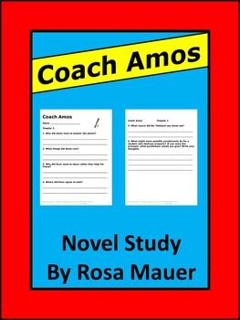 Coach Amos Gary Paulsen Book Reading Comprehension Questions