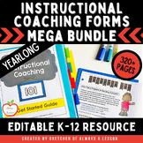 Instructional Coaching: Resources GROWING Bundle