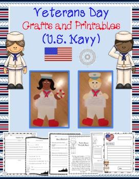 Veterans Day Craftivity (U.S. Navy)