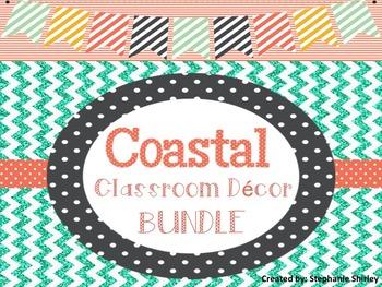 Coastal / Beachy Classroom Decor