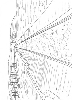 Coastal Defences: The Breakwater: Part 2: Colouring Worksheet