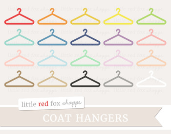 Coat Hanger Clipart; Clothing Hanger