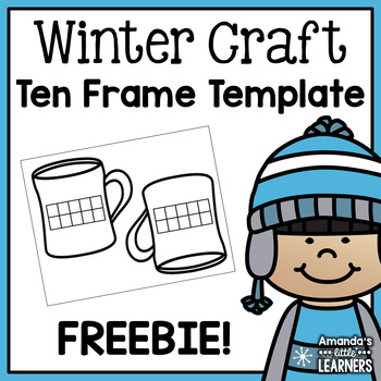 Ten Frame Activity Template: Cocoa