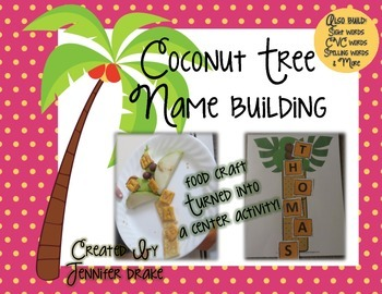 Coconut Tree Name Building!  Food Craft Turned Into A Cent