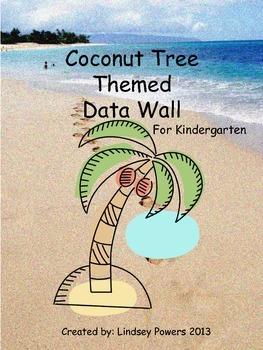 Coconut Tree Themed Data Wall for Kindergarten