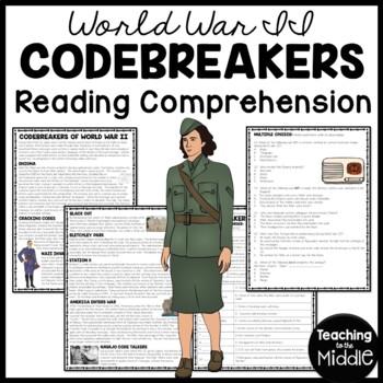 Code Breakers of World War II article, chronology, matching