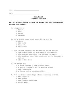 Code Talker: Quiz Bundle