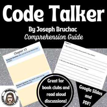 Code Talker by Joseph Bruchac Comprehension Packet
