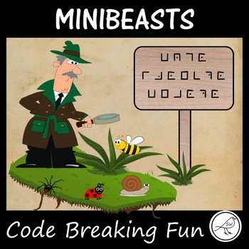 Codebreaking  -  Minibeasts, Invertebrates, Insects