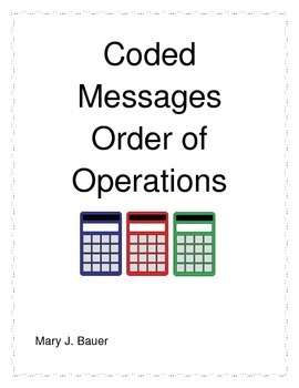 Coded Messages: Order of Operations