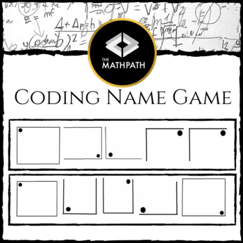 Coding Name Game: First Day Activity (Patterns, Analyzing,