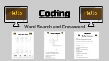 Coding Word Search and Crossword