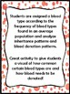 Codominance and Blood Types Activity