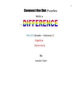 Connect the Dots with a Difference   Grade 4   Vol. 3