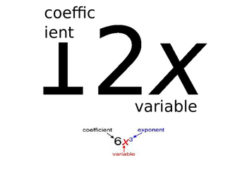 Coefficient and Variable Poster