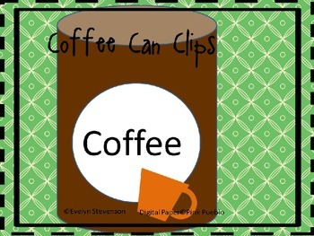 Coffee Can Clip Art
