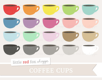 Coffee Cup Clipart; Mug