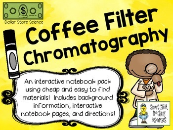 Coffee Filter Chromatography for Interactive Notebooks ~ D