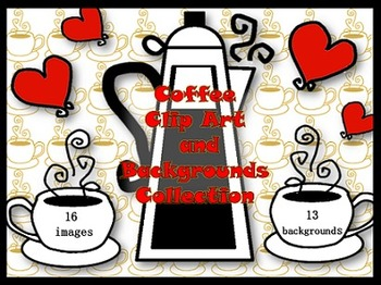 Coffee Love Clip Art Collection