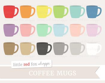 Coffee Mug Clipart; Cup