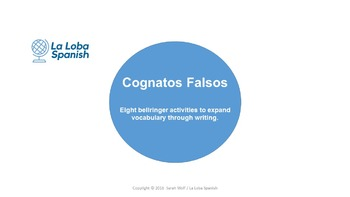 Cognados Falsos - Short activities to learn commonly mista