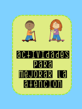 Cognitive Games - focus and attention / Juegos Cognitivos