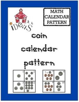 Coin Calendar Pattern