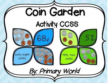 Coin Garden Activity CCSS