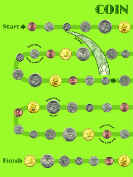 Coin Identification and Addition File Game (Religious Version)