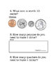 Coin Math Worksheet