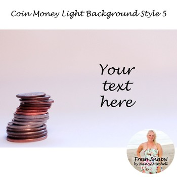 Coin Money Light Background Style 5