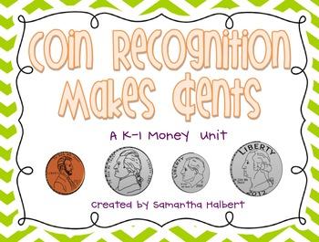 """Coin Recognition Makes """"Cents"""", A K-1 Money Unit"""