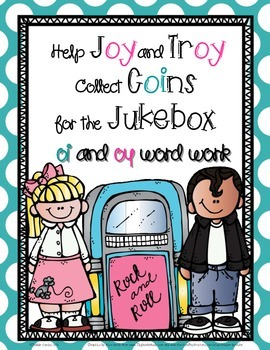 Coins for the Jukebox: oi  and oy Word Work