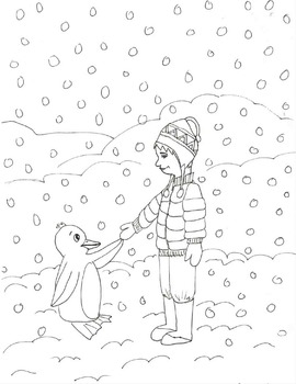 Cold Chilly Winter Coloring pages