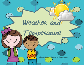 Cold, Cool, Warm, & Hot Weather