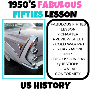 1950's Lesson US History