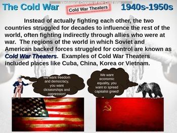 Cold War (40s-50s) Ideological Origins of the Cold War - e