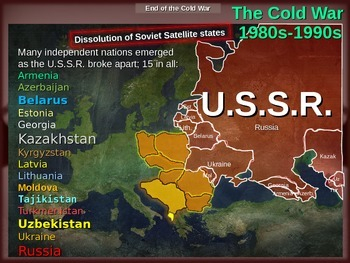 Cold War (80s-90s) PART 5 - End of the Cold War, Dissoluti